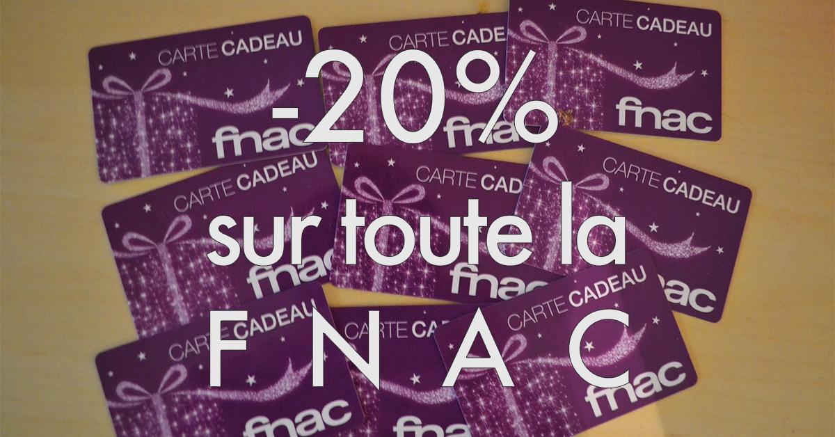 -20% Fnac