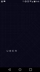 Accueil Uber
