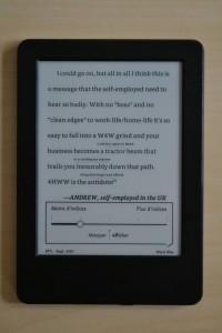 Kindle wordwise