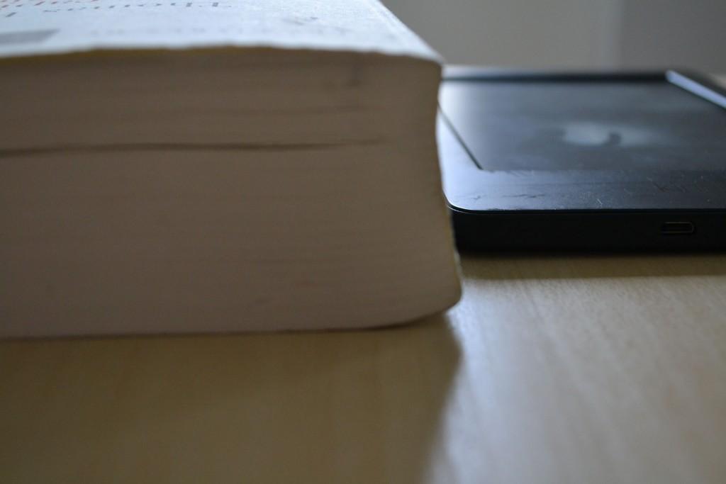 Kindle comparaison livre