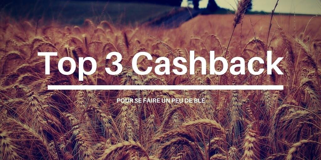 Top 3 Cashback