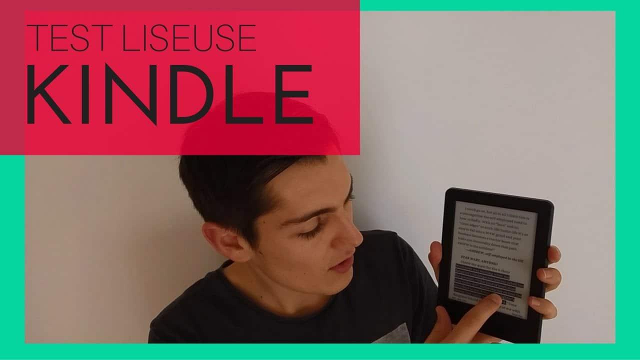 Test Amazon Kindle 7 ème génération