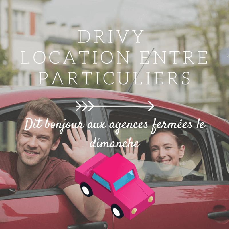 [Test] Drivy, la location de voiture entre particulier (code promo 15€)