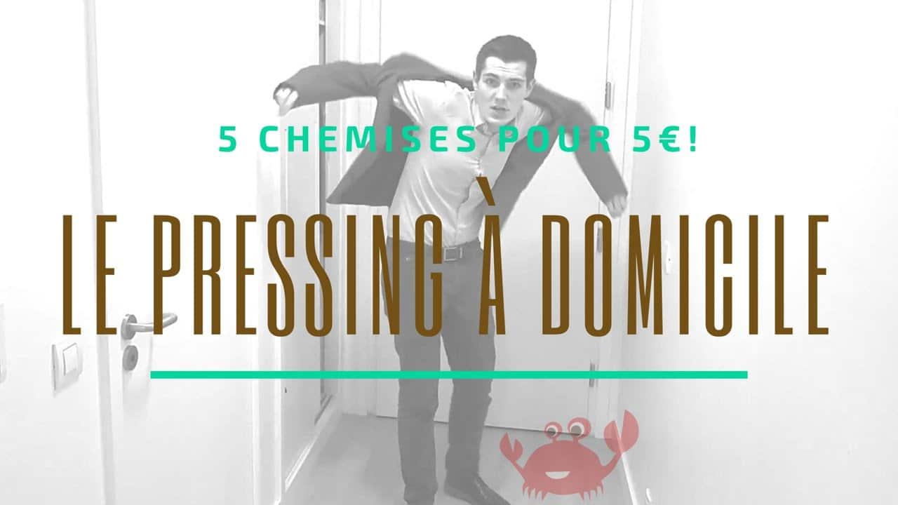 [Test] Cleanio: pressing à domicile et Code Promo