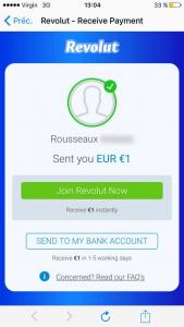 Envoie argent Revolut