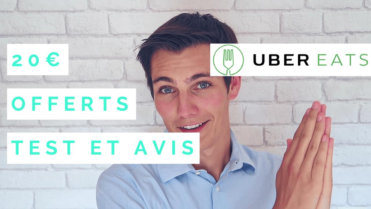 [TEST] Code Promo UberEats, qui livre en moins de 10 minutes