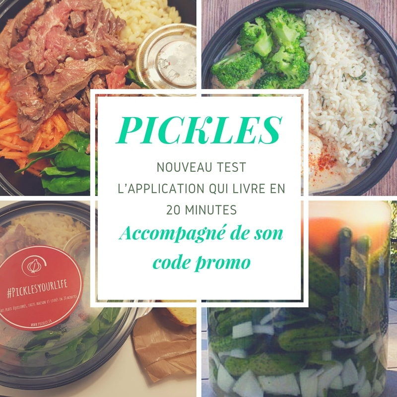Code promo Pickles