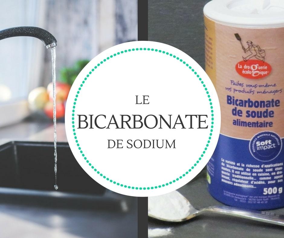 Bicarbonate astuce ménage