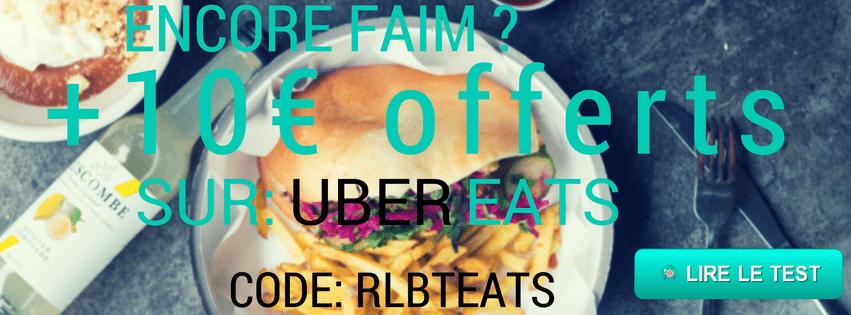 Ubereats code promo