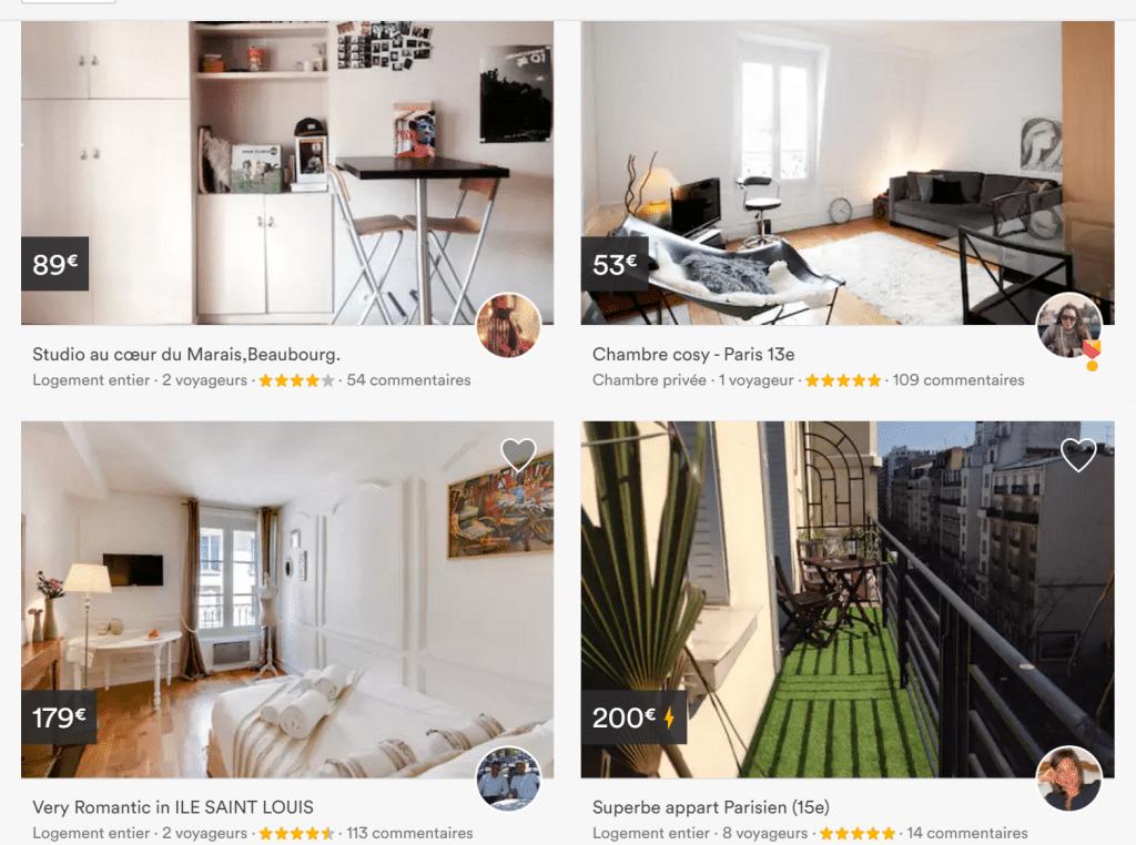 Évaluation Airbnb
