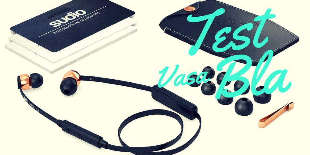 [Test] Écouteurs Bluetooth Sudio Vasa Bla + code promo