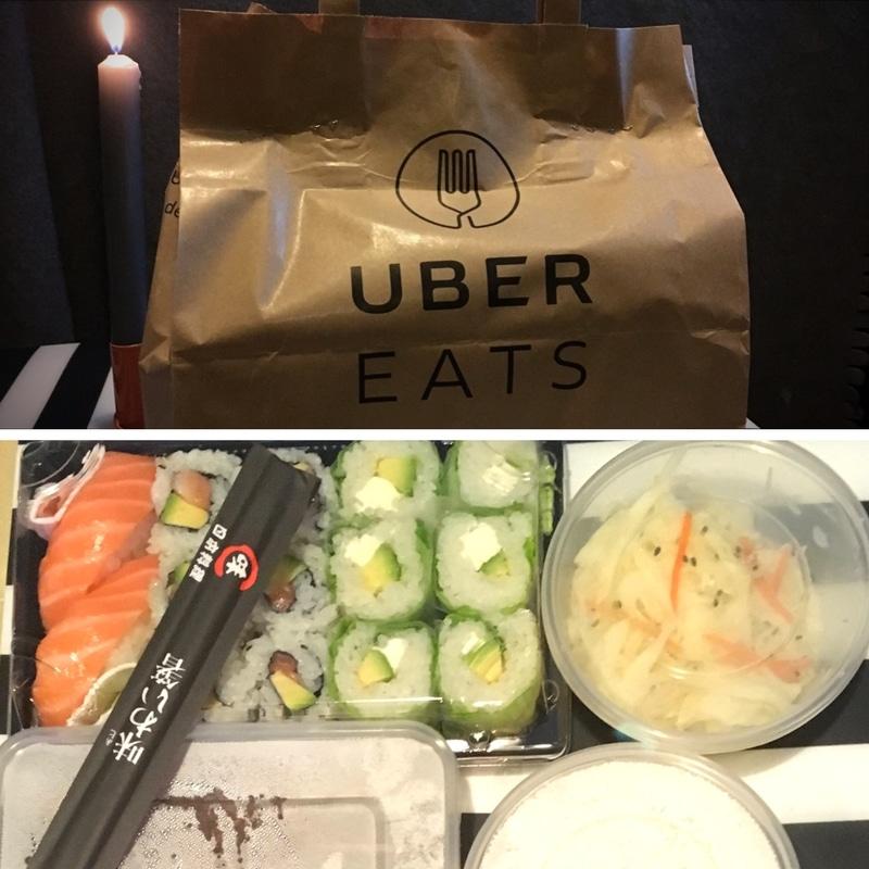sushi ubereats