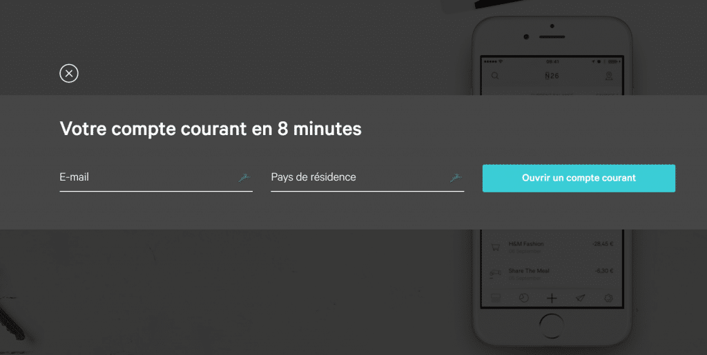 Ouvrir compte N26