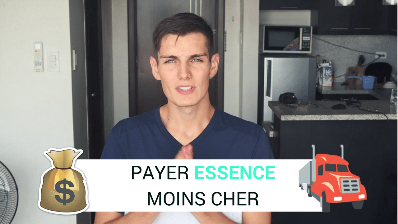 Payer essence moins cher