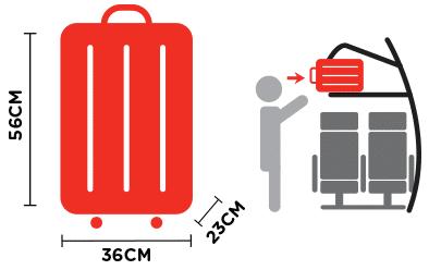 baggaege cabine AirAsia