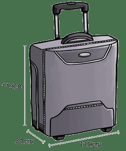 valise cabine airasia