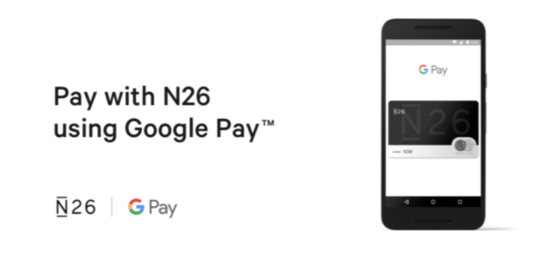 lancement google pay n26