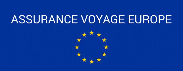 assurance voyage europe