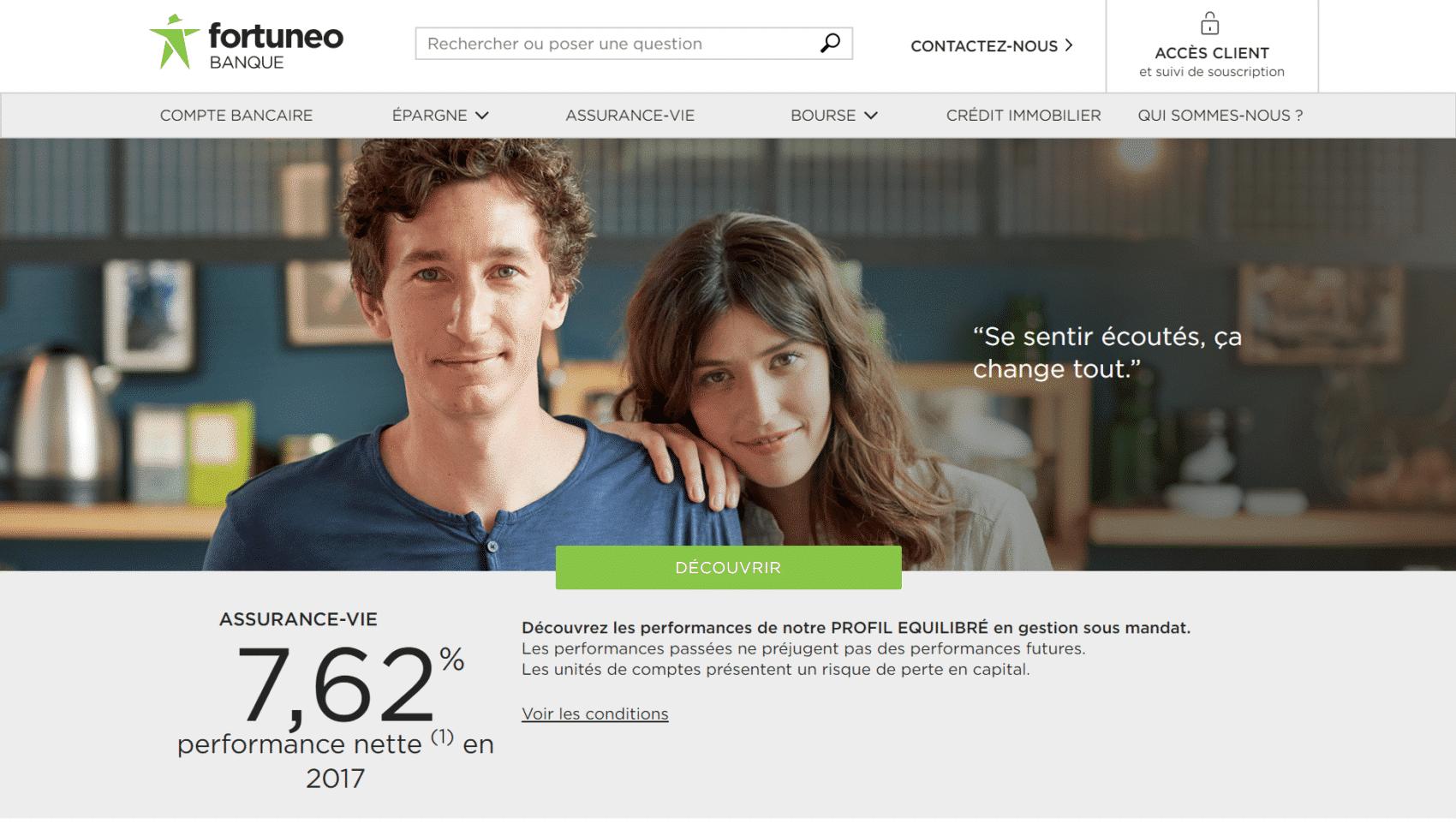 Fortuneo - banque en ligne