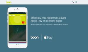 application Boon - paiement mobile