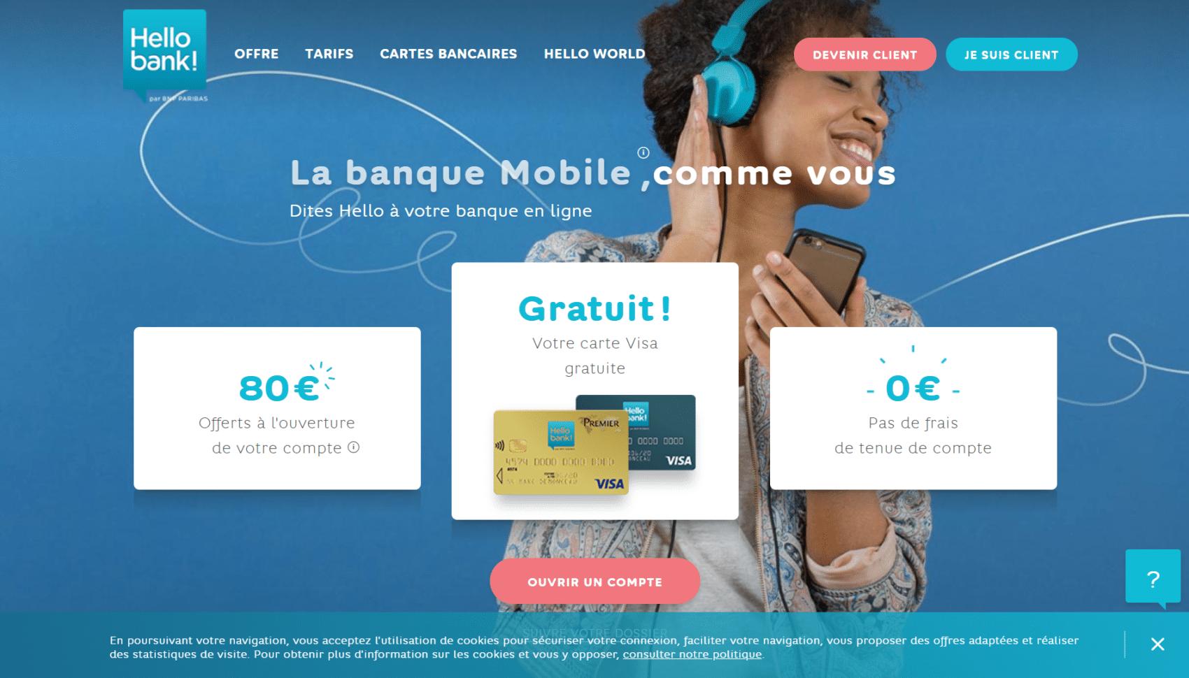 hello bank - banque en ligne