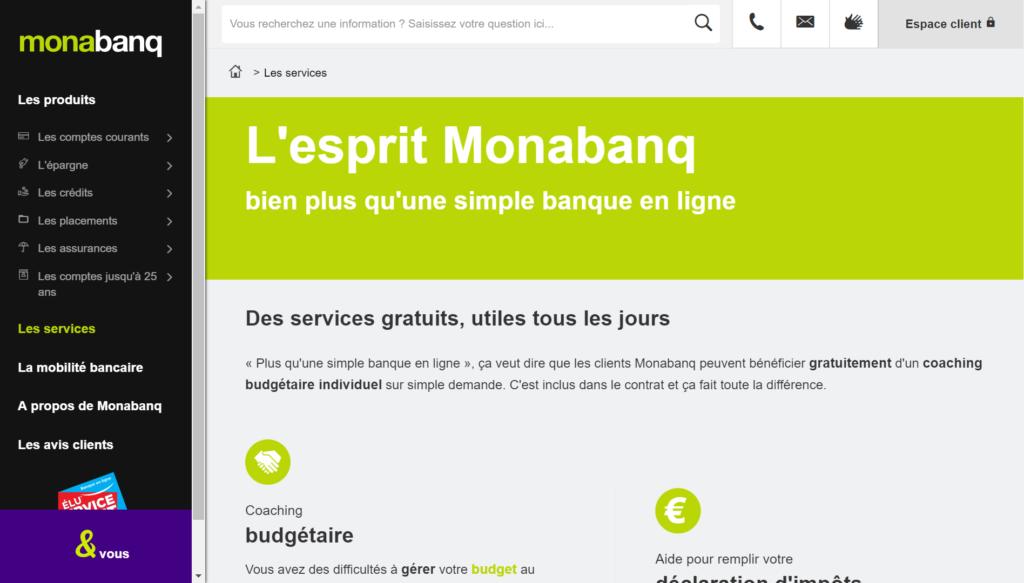monabanq - carte visa