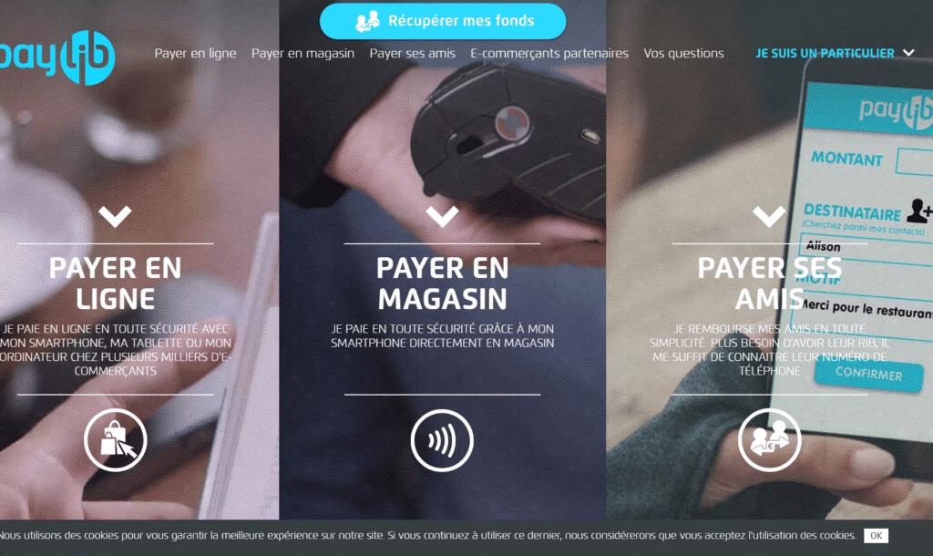 paylib - payer en ligne