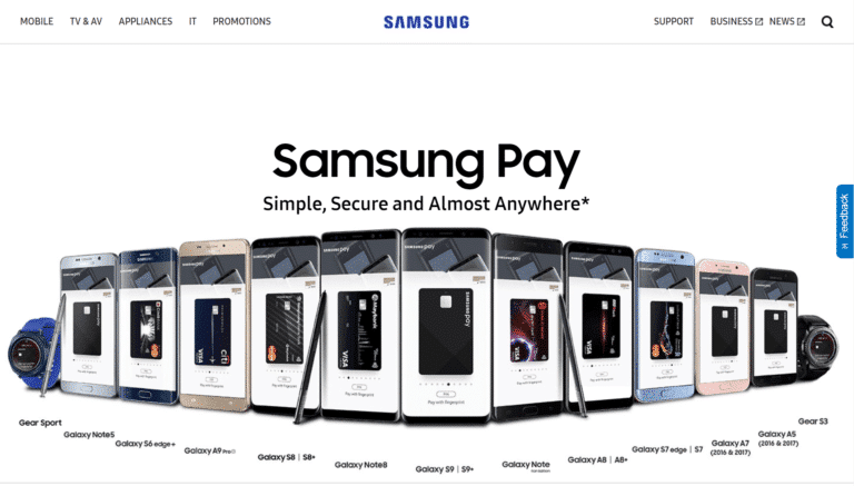 samsung pay - paiement mobile