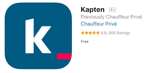 Application Iphone Kapten