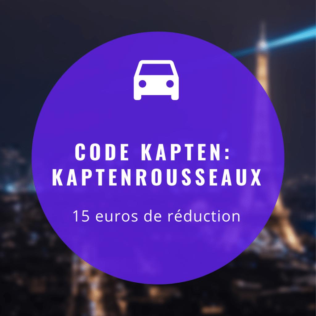 Code promo KAPTEN