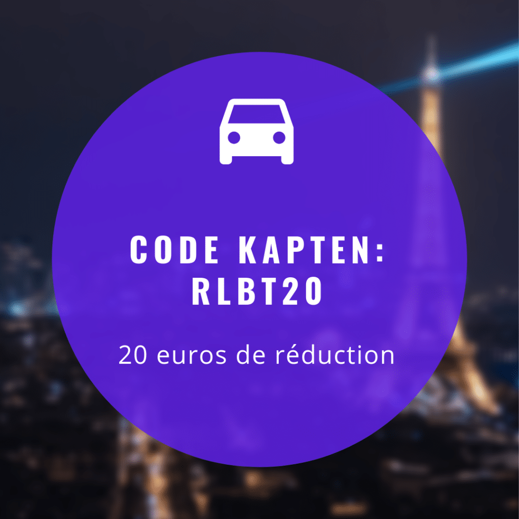 20€ Code Promo Kapten - Code exclusif pour 2019